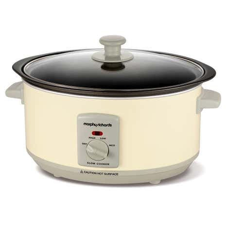 Morphy Richards Accents 461002 3.5L Cream Slow Cooker