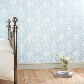 Dorma Duck-Egg Regency Wallpaper