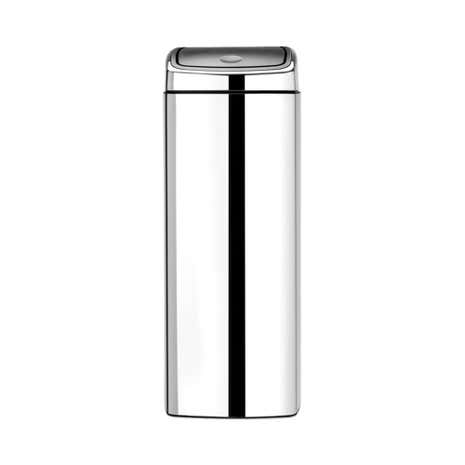Brabantia Brilliant Steel 25 Litre Touch Bin