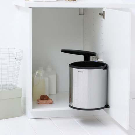 Brabantia Brilliant Steel 15 Litre Built-in Bin