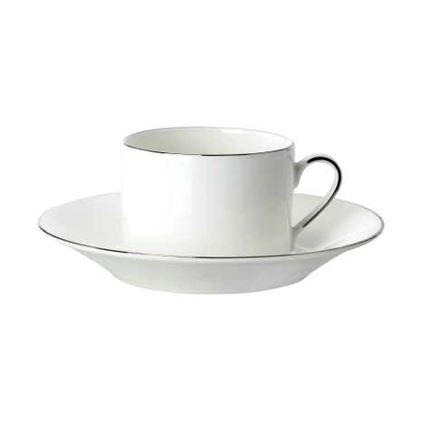 Dorma Platinum Band Cup and Saucer
