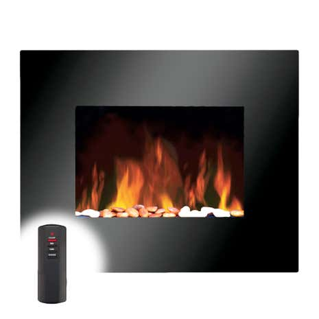 1800W Wall Mounted Fire