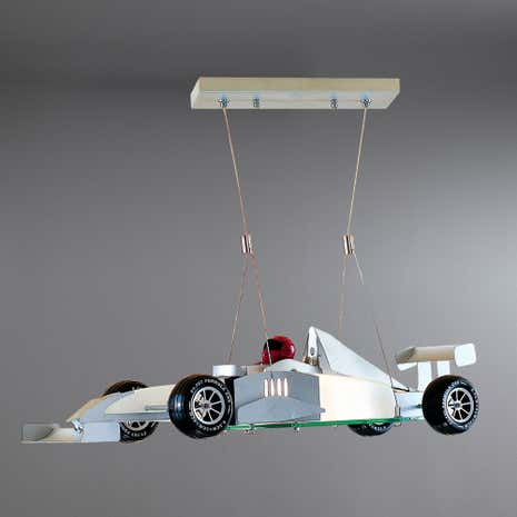 Racing Car Glass Ceiling Fitting