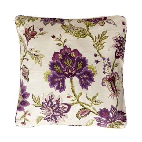 Dorma Bloomsbury Plum Square Cushion