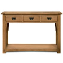 Dorma Cheltenham Oak Console Table