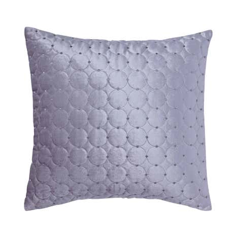 Vienna Silver Square Cushion