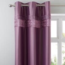 Vienna Heather Thermal Eyelet Curtains