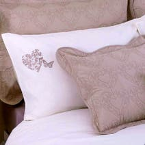 Cream Parisian Housewife Pillowcase