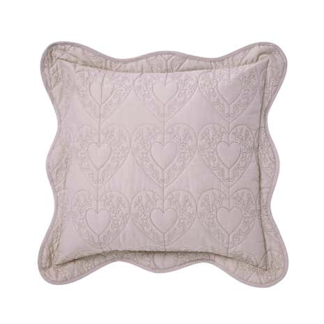 Parisian Cream Square Cushion