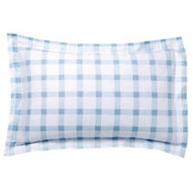 Duck Egg Daisy Oxford Pillowcase