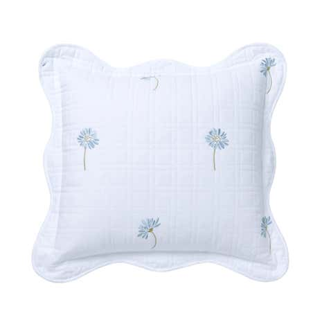 Daisy Duck-Egg Square Cushion