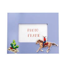 Kids Cowboys and Indians Photo Frame
