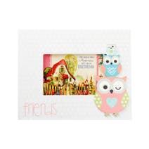 Kids Pretty Owls Photo Frame