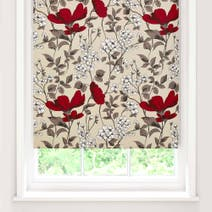 Poppy Fields Blackout Roller Blind