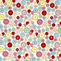 Buttons PVC Fabric