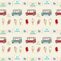 Ice Cream PVC Fabric