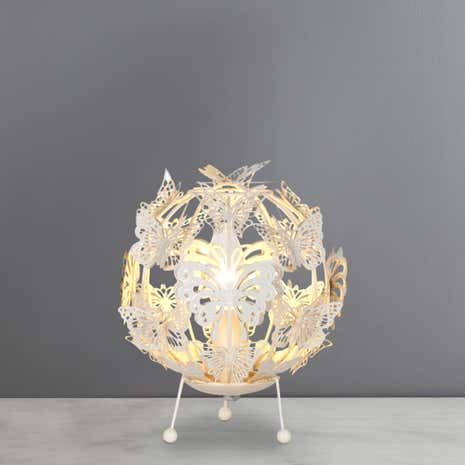 Butterfly Ball Table Lamp