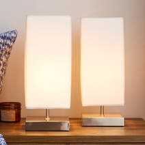 Charlotte Touch Twin Table Lamps