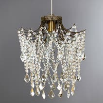 Grace Crystal Glass Light Fitting