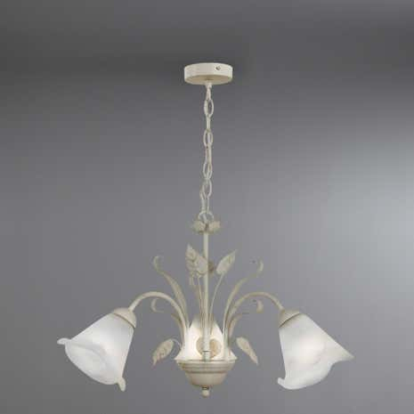 Faye 3-Light Floral Ceiling Fitting