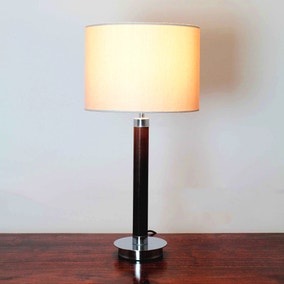 Hugo Faux Leather Table Lamp