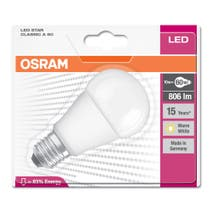Osram Led Star 10W E27 GLS Frosted Bulb