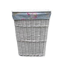 White Rose Laundry Hamper