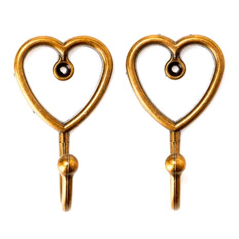 Pack of 2 Heart Hooks