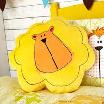 Kids Safari Friends 3D Cushion