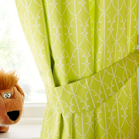 Safari Friends Blackout Eyelet Curtains