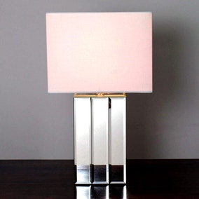 Rectangular Mirror Table Lamp