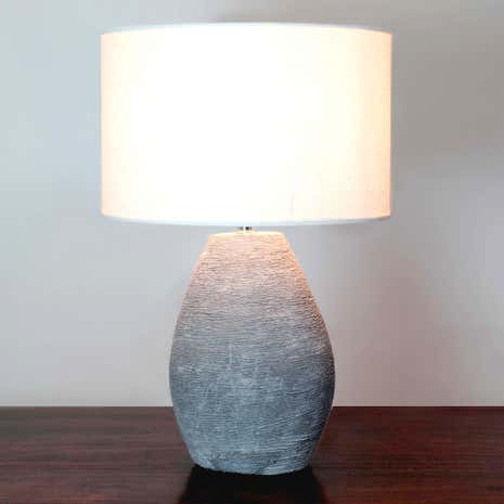 Robyn Concrete Table Lamp