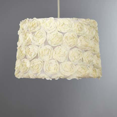 Rosa Soft Flower Light Shade