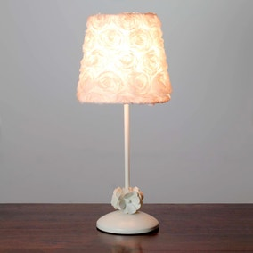 Rosa Floral Fabric Table Lamp