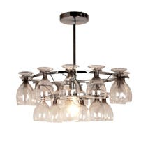 Tara Wine Glass Light Fitting