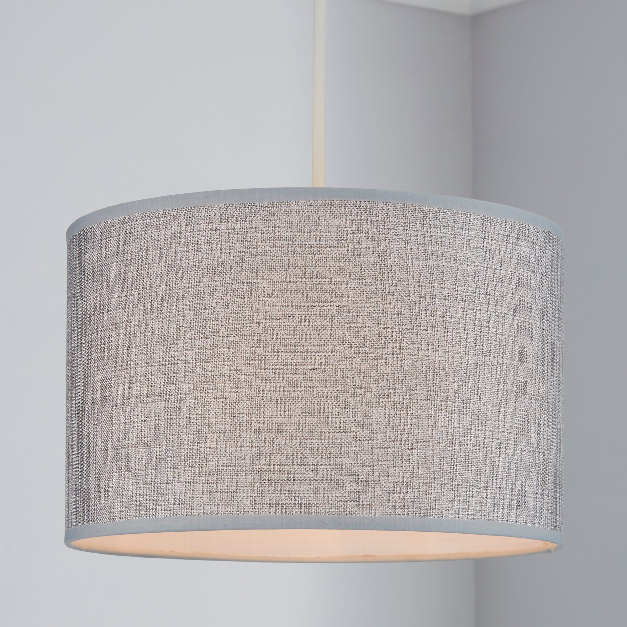 Dunelm Wall Lamp Shades : Carrie Textured Light Shade Dunelm