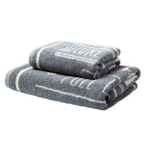 Grey Laundry Towel