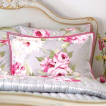 Dorma Pink Nancy Oxford Pillowcase