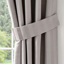 Dove Grey Palais Tiebacks