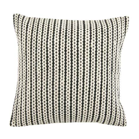 Natural and Grey Hand Braid Cushion
