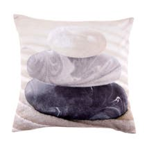 Grey Pebbles Square Cushion