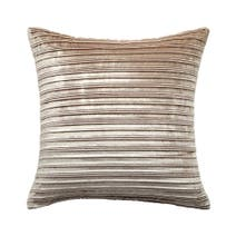 Hotel Pleated Velvet Cushion