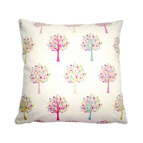 Pink Trees Cushion Cover