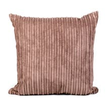Chocolate Jumbo Cord Cushion