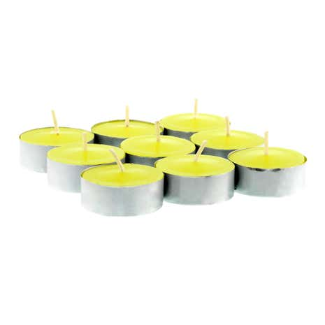 Home Fragrance Pack of 9 Citrus Fizz Scented Tea Lights