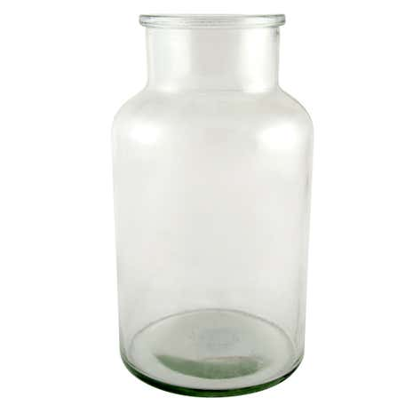 Large Clear Glass Jar