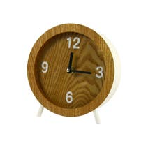 White Edge Mantel Clock