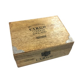 Cargo Wooden Storage Box