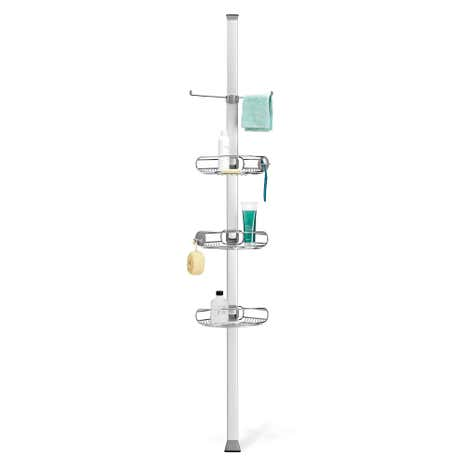 simplehuman Tension Pole Shower Caddy