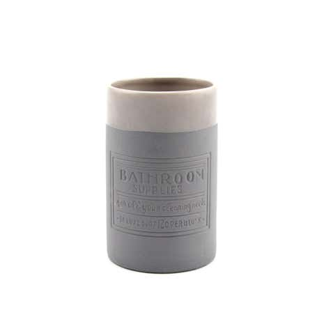 Salvage Stoneware Bathroom Tumbler